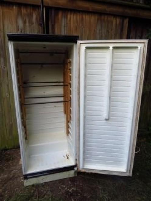 Шкаф для копчения из холодильника
