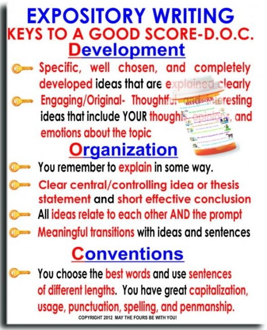keys to writing an expository essay