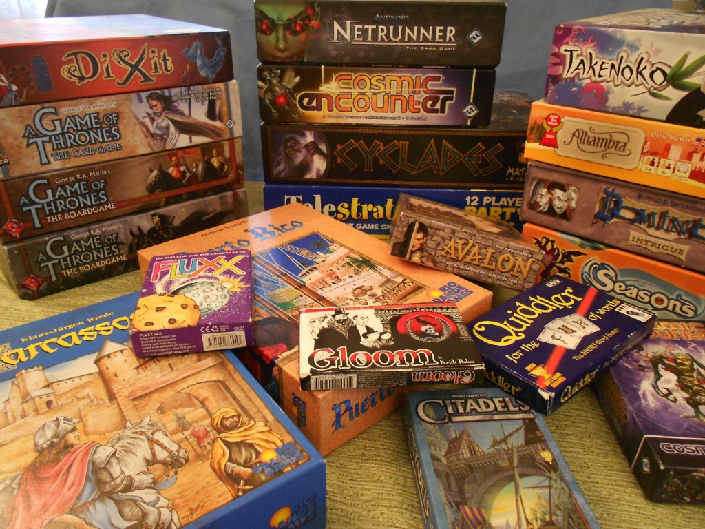 Christmas board games for adults