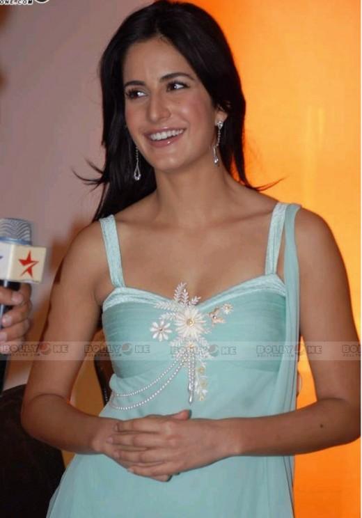 Katrina Kaif neckline
