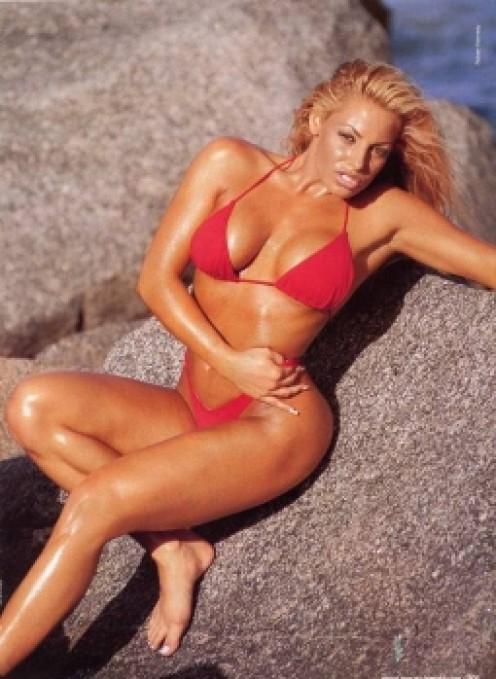 Trish Stratus Sexy Former Fitness Model
