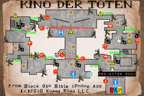 Camping Strategies For Kino Der Toten Black Ops Zombie Map