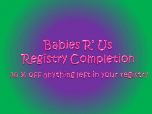 Babies R Us Baby Gift Registry Receive Free Bag