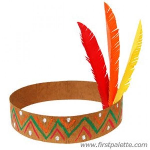 Индейские головные уборы своими руками