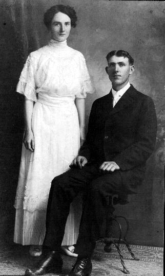 """Cora Joy Martin and Charles Lorenzo """"Ren"""" Martin"""