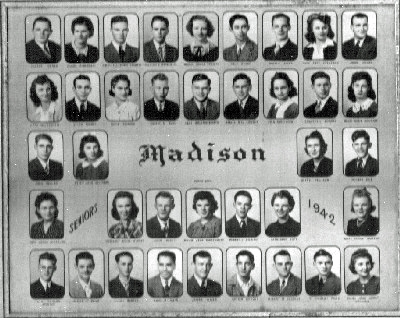 Madison graduating class (Madison, Kansas)