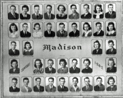 Madison graduating class (Madison, Kansas)