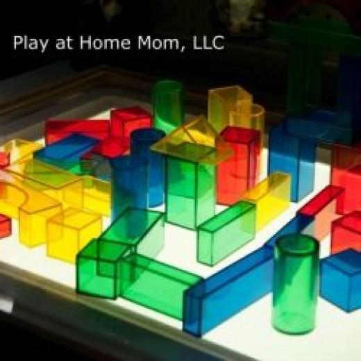 Translucent Blocks for the Light Table