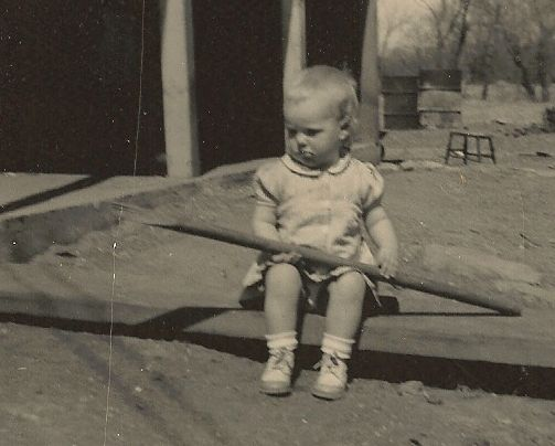 1950 toddler photo