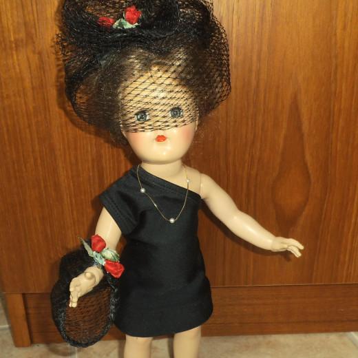 Toni Doll in Black Dress
