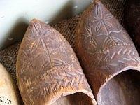 vintage Dutch clogs shoes