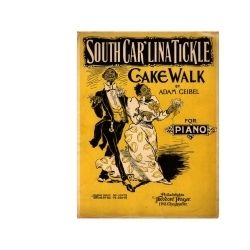 Sheet music for the cakewalk