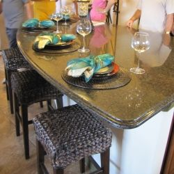 This example is in the model homes of Solivita, a premier retirement community in Central Florida.
