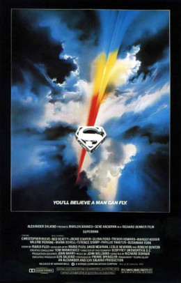 Superman, the first major superhero movie.