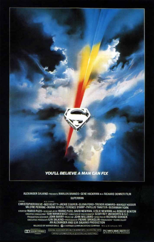 Superman, the first major superhero movie.