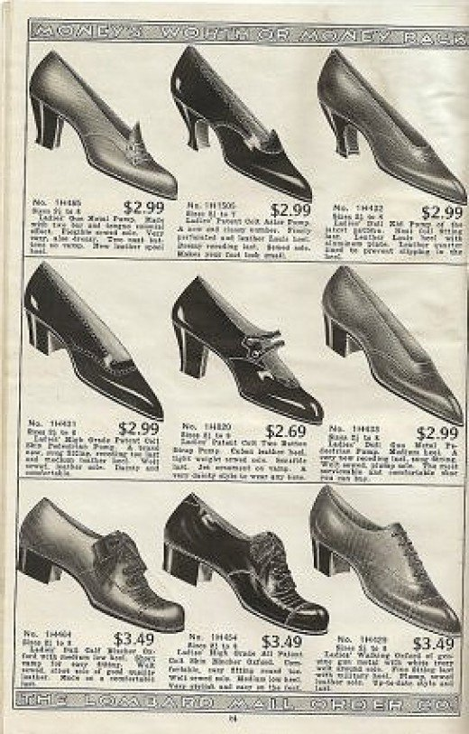 Check out These Prices for Shoes in 1918