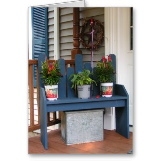 Benches make a great place to set and take off your shoes or a spot to feature some plants. These make a welcoming entrance to your home.