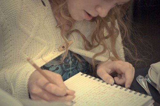 writing in the journal