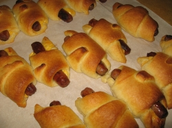 My sister liked to make these. It's a fun cooking project for a youngster.