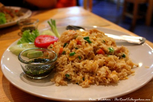 Delicious Thai Fried Rice at Aroy Dee