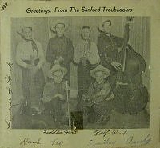 Sanford Troubadours 1939