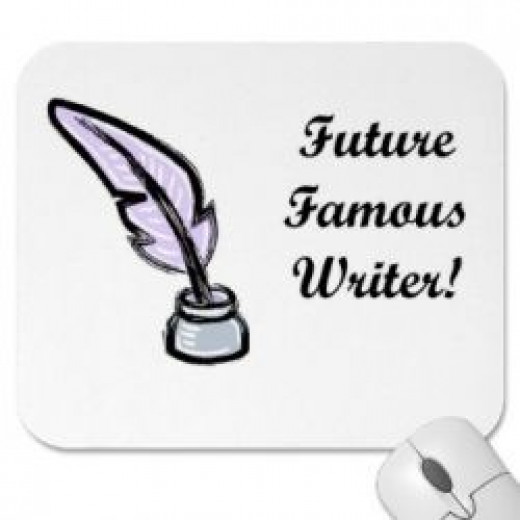 Mousepad for writers