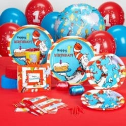 Dr. Seuss Party Supplies for Home, School or Library
