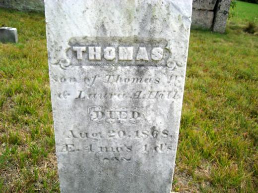 Thomas Hill (son of Thomas and Laura Hill)