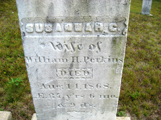 Susannah (wife of William H. Perkins)