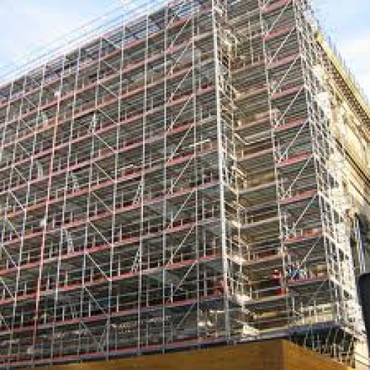There are many builders that build everything  but even the biggest builder hires some equipment like scaffolding, when they build, say some apartments. To build the scaffolding you need a special gang of people called riggers.