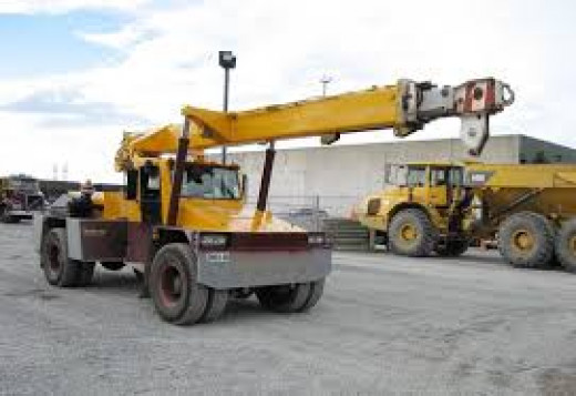 Cranes are other equipment that most builders hire, they are very useful to lift heavy weights; because cranes are very expensive machinery to own, so, most builder hire them when they need them, so this is the way to go.