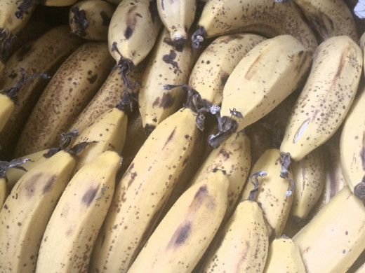 Always have ripe bananas on hand
