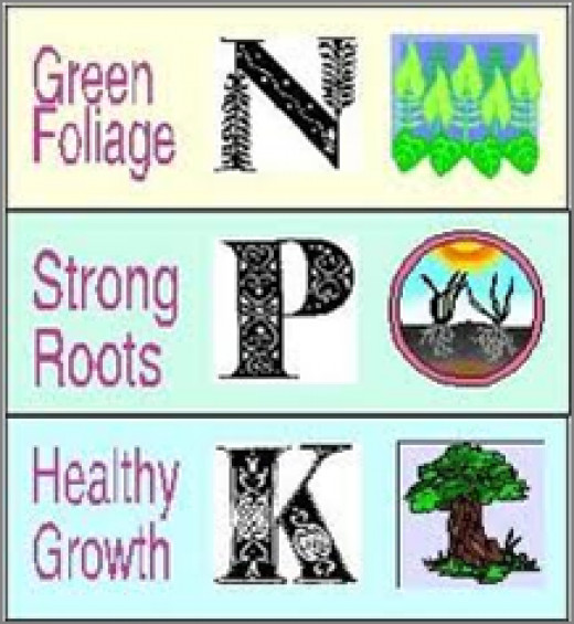 Essential nutrients for plants.