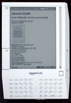 first kindle that came out