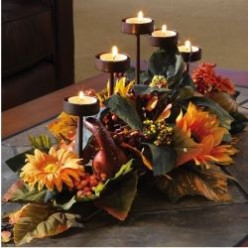 Fall Centerpieces for the Table