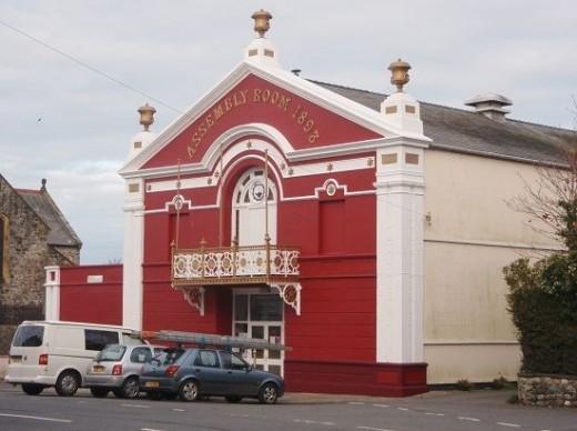 The Magic Lantern Cinema in Tywyn: