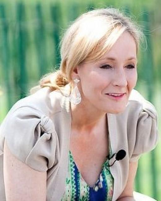 J K Rowling - Courtesy Daniel Ogren
