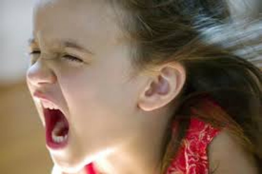 Anger in small children