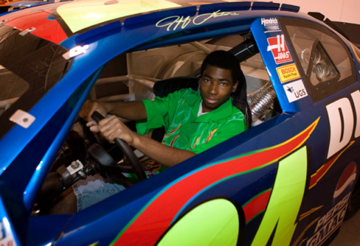 [Photo: Wish.org] -- Allan (leukemia, age 17) wishes to be a car designer.