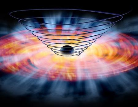 NASA's pic of black hole