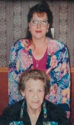 Me with mom Izzy in 1994, around 175#
