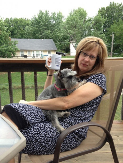 I wuvs my Auntie Celia! July 2013