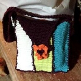 Crochet Pattern For Bingo Bag : Crochet A Colorful Bingo Bag/Purse Free Crochet Pattern!
