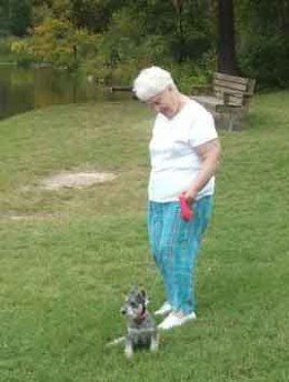 At The Park With Late Great Gramma Norma