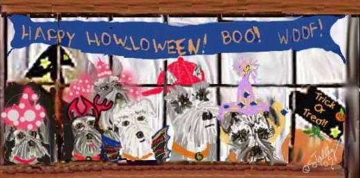 A Halloween cartoon I drew many years ago