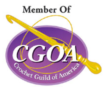 Proud to be an Associate Professional Member of The Crochet Guild of America!
