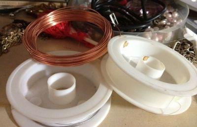 Wire, Elastic & Copper