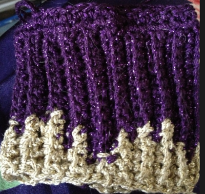 Here's An Intarsia Version In Enchantment from JoAnn That I'm Working On Now