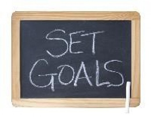 Goal setting is a great strategy for adults with dyslexia