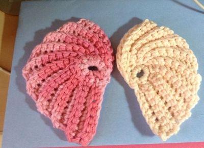 My Crochet Angel Wing Scrubbies